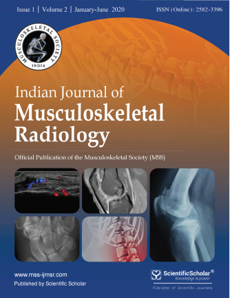 Indian Journal of Musculoskeletal Radiology (IJMSR)